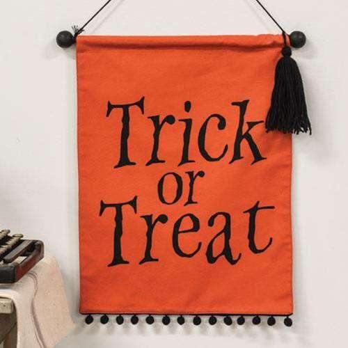 Trick or Treat Fabric Wall Hanging