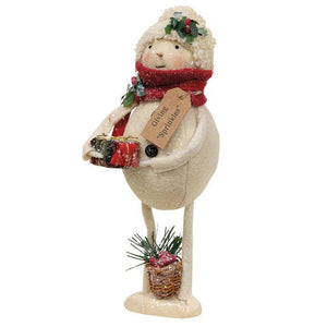 Sprinkles Snowman w/ Basket and Presents