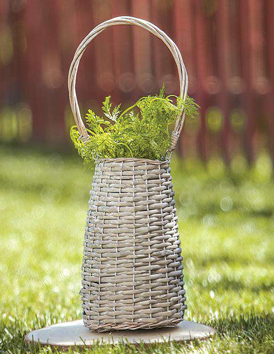 Tall Willow Basket - The Fox Decor