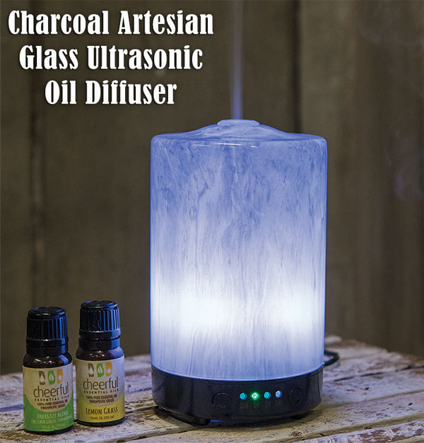 Charcoal Ultrasonic Oil Diffuser