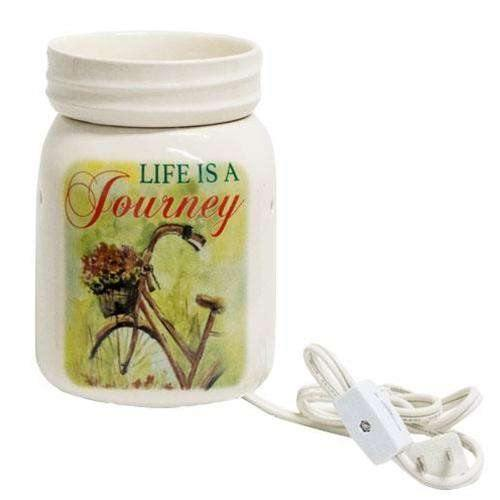 Life Is A Journey Wax Melter