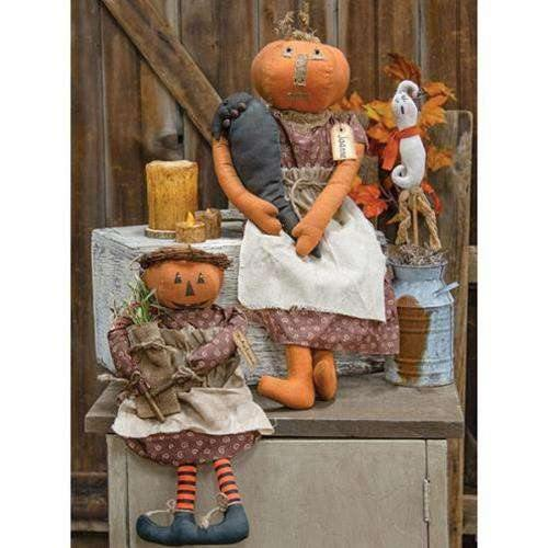 Autumn Pumpkin Doll