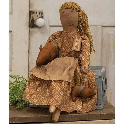 Janel Doll Rustic Country Doll