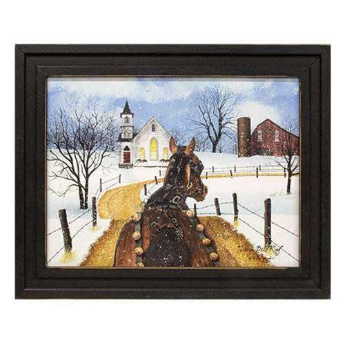 Sleigh Bells Ring Framed Print, 12x16