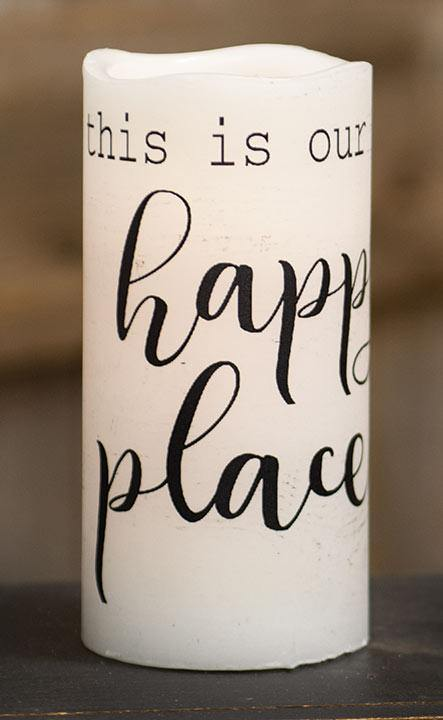 Happy Place Timer Pillar