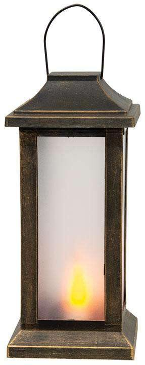 Black and Bronze Post Lantern