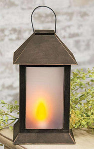 Black and Bronze Colonial Lantern