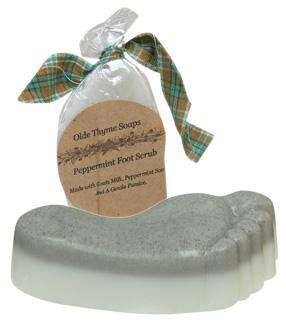 Peppermint Foot Soap Scrub - The Fox Decor