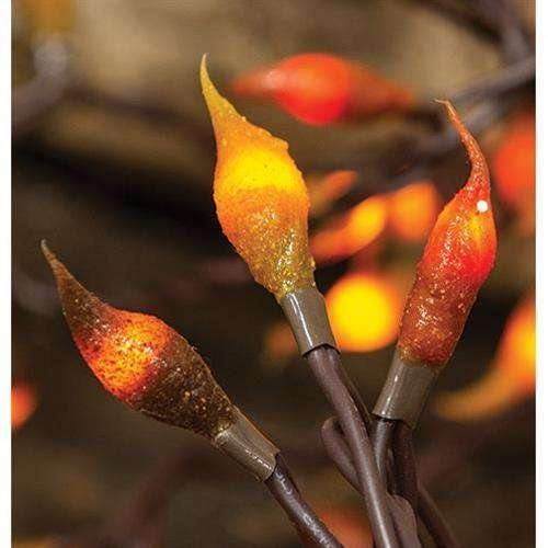 Fall Leaves Silicone Teeny Lights, 35ct