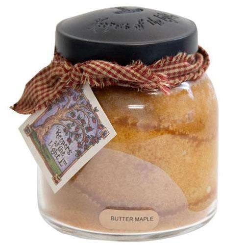 Butter Maple Papa Jar Candle, 34oz