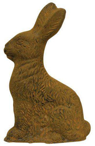 "'+Aged Wax Bunny, 8.25"" Bunnies, Chicks & More CWI+"