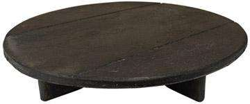 "Aged Wood Riser, 11"" Aged Wood Collection CWI+"