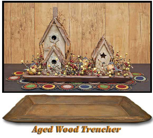 Aged Wood Trencher Wood CWI+