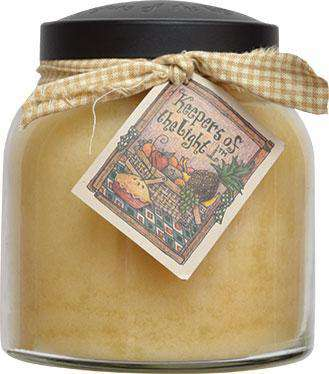 Almond Butter Pound Cake Papa Jar Candle, 34oz Jar Candles CWI+