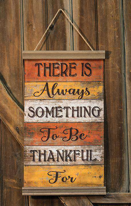 Always Thankful Banner Wall CWI+