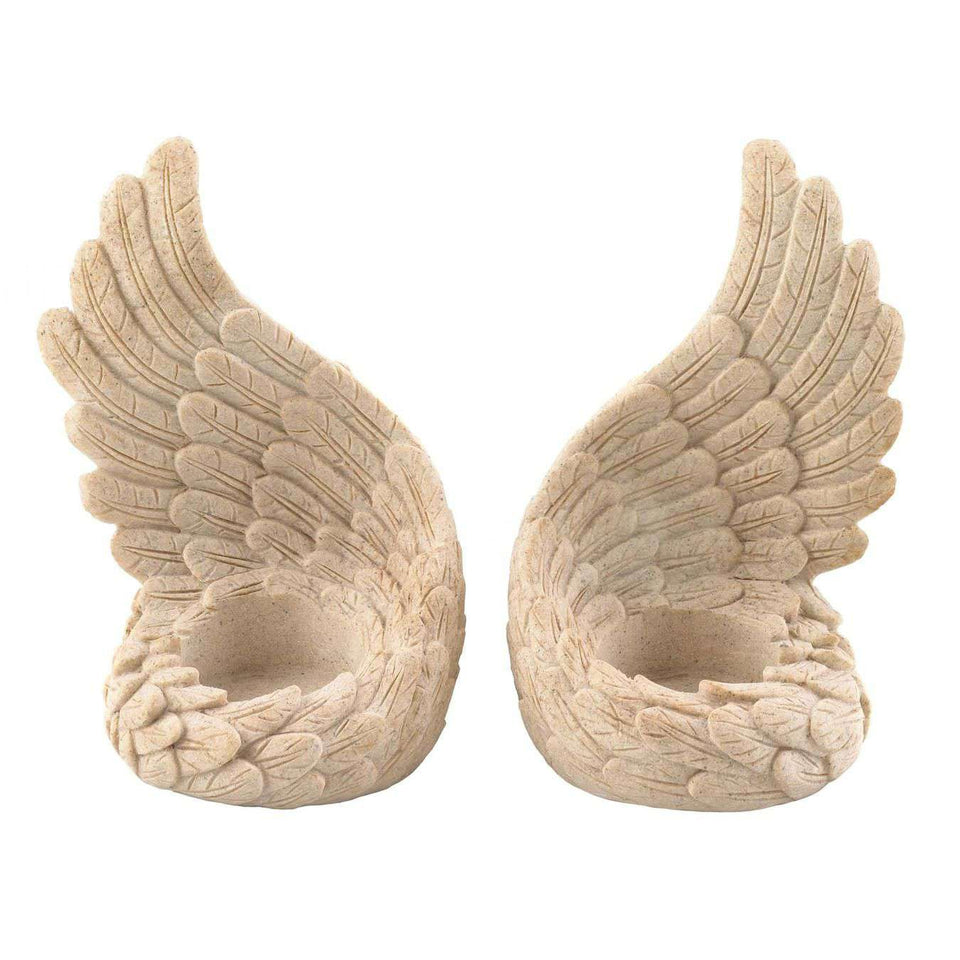Angel Wings Tealight Set Summerfield Terrace