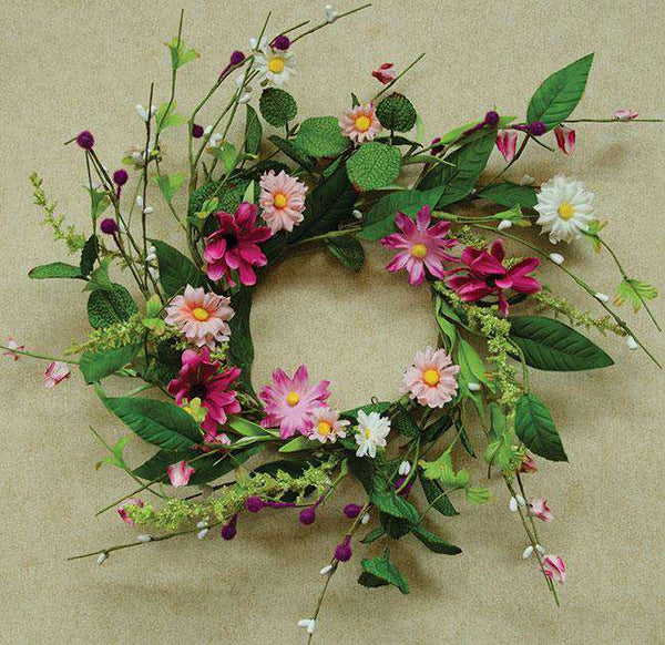 "Aster Daisy Wreath - 12"" Everyday CWI+"