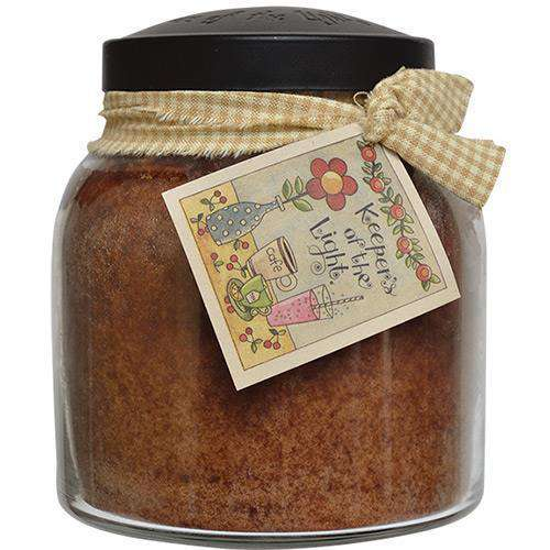 Aunt Kook's Apple Cider Papa Jar Candle, 34oz Jar Candles CWI+