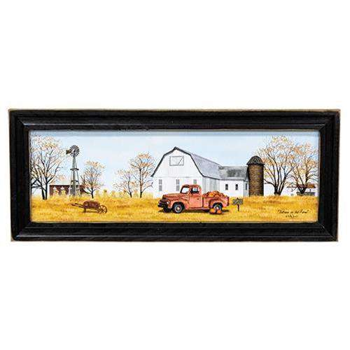 Autumn on the Farm Framed Print Framed Prints CWI+
