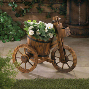 Barrel Tricycle Planter Gallery of Light