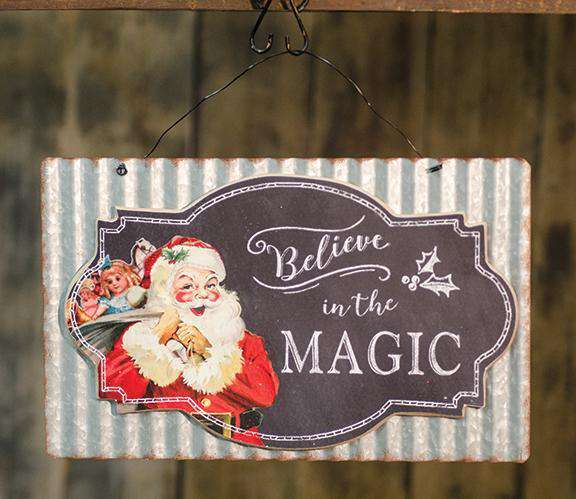 Believe in the Magic Sign Wall CWI+