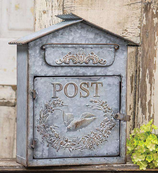 Birdhouse Post Box Mail and Post Boxes CWI+