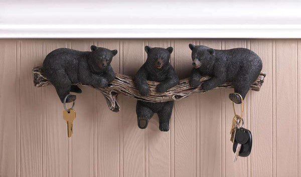 Black Bear Wall Hooks - The Fox Decor