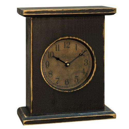 Black Mantel Clock Clocks CWI+
