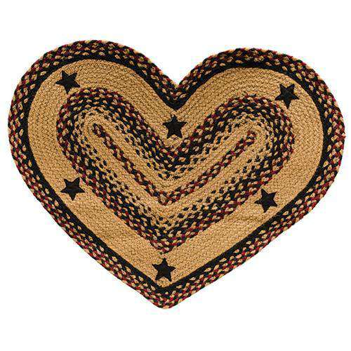Blackberry Star Heart Rug Rugs CWI+