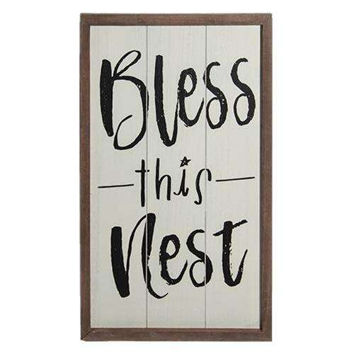 Bless this Nest Sign CHD Signs & Wall Accents CWI+