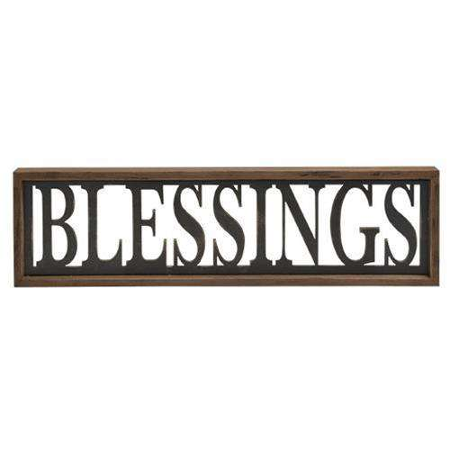 Blessings Framed Sign Pictures & Signs CWI+