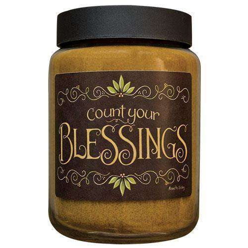 Blessings Jar Candle, 26oz Annette Sibley CWI+