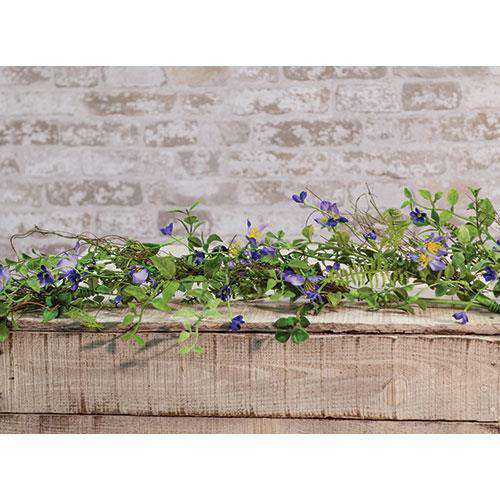 Blue Violet Garland, 4ft Spring CWI+