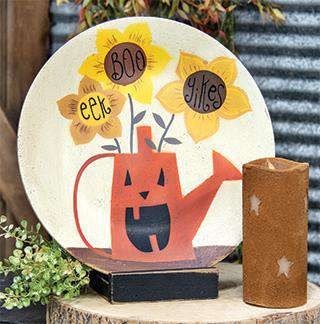Boo, Eek, Yikes Pumpkin Plate Decorative Plates CWI+