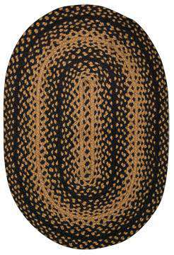 Braided Ebony Rug, 20x30 Rugs CWI+