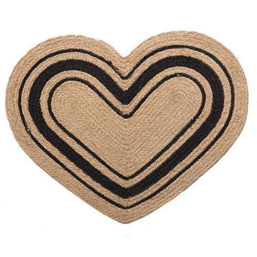 Bristol 20x30 Heart Rug Rugs CWI+