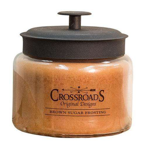 Brown Sugar Frosting Jar Candle, 48oz Candles and Scents CWI+