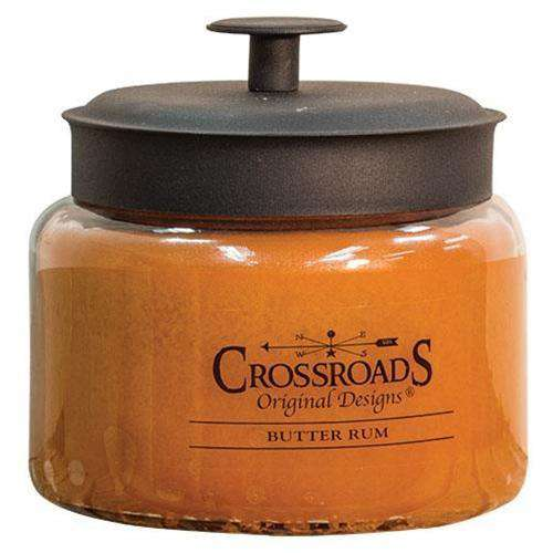 Butter Rum Jar Candle, 48oz KP Specials CWI+