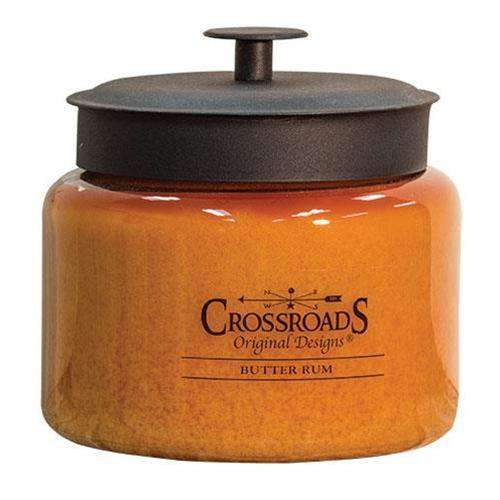 Butter Rum Jar Candle, 64oz Candles and Scents CWI+