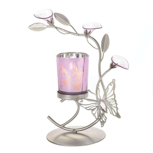 Butterfly Lily Candle Holder Gallery of Light