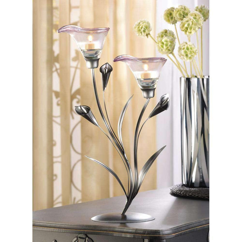 Calla Lily Candle Holder