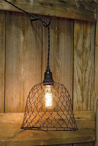 Chicken Wire Dome Shade Lamps/Shades/Supplies CWI+