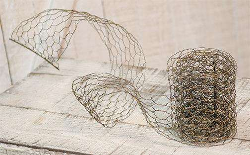 Chicken Wire Ribbon Wire & Wood CWI+