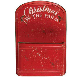 Christmas on the Farm Post Box General CWI+