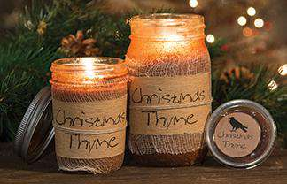 Christmas Thyme Jar Candle, 16oz Jar Candles CWI+