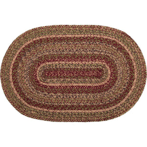 Cider Mill Jute Braided Rugs Oval VHC Brands Rugs VHC Brands