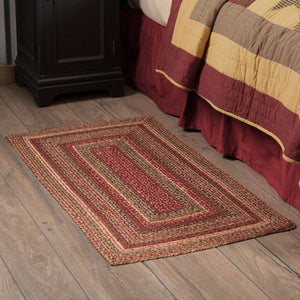 "Cider Mill Jute Braided Rugs Rectangle VHC Brands Rugs VHC Brands 27"" x 48"""