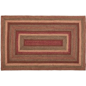 Cider Mill Jute Braided Rugs Rectangle VHC Brands Rugs VHC Brands 5'x8'