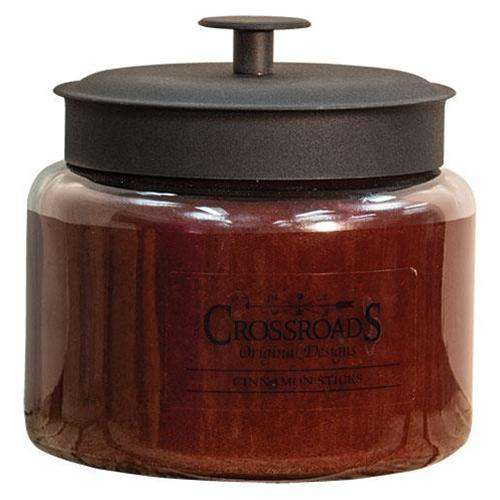 Cinnamon Sticks Jar Candle, 64oz Crossroads 64oz Candles CWI+