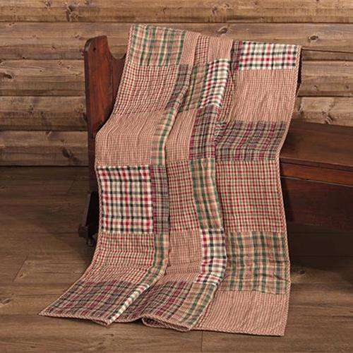 Clement Quilted Throw, 60x50 Quilted Throw CWI+